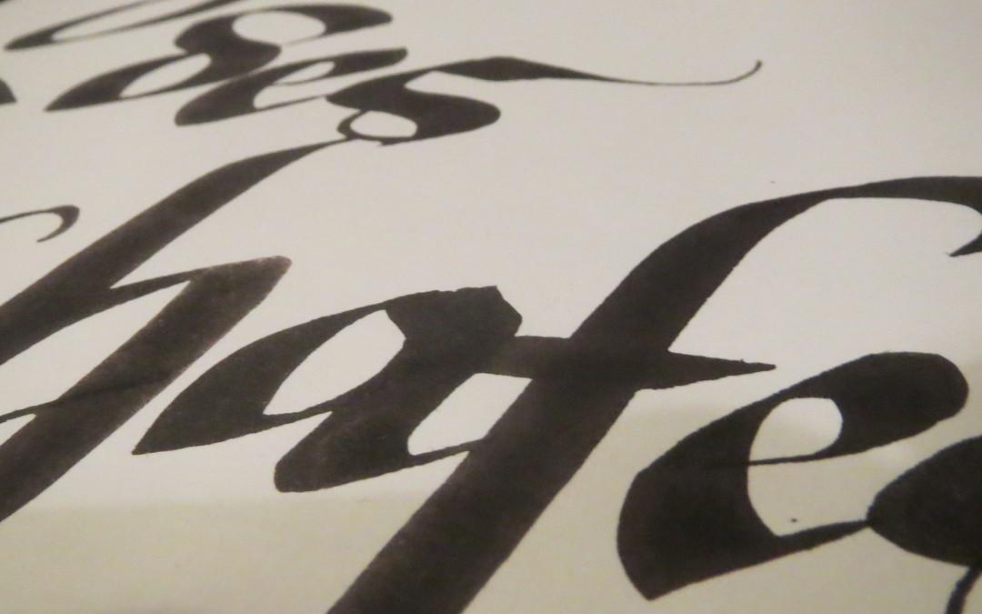 "Calligraphic ""Kakizome"""