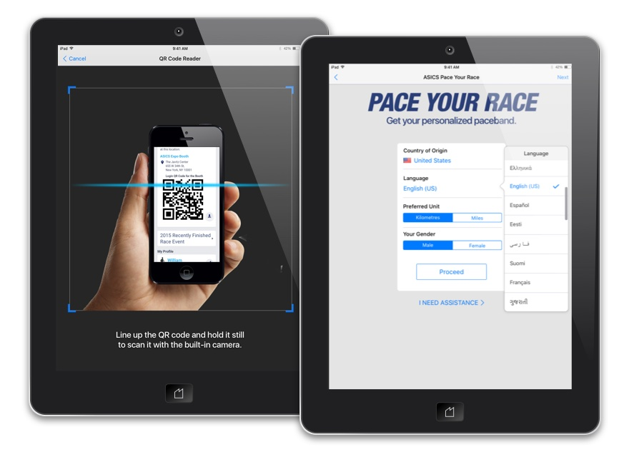 iOS kiosk application